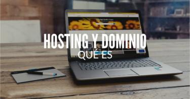 Qué es hosting y dominio