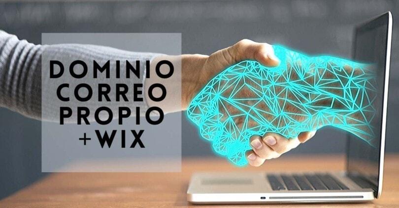 Dominio y correo con Wix