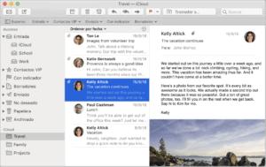 Mail, el programa de correo de Apple