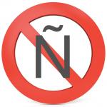 Prohibido la ene